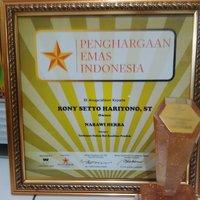 Penghargaan Emas Indonesia Nabawi Herba