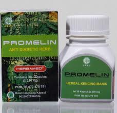 Obat Herbal Diabetes Promelin Herbamed