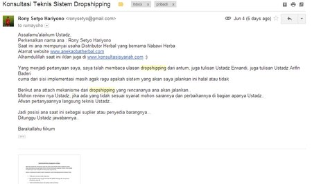 Hukum Dropshipping Herbal Konsultasi