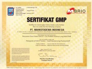 Sertifikat GMP Jamkho